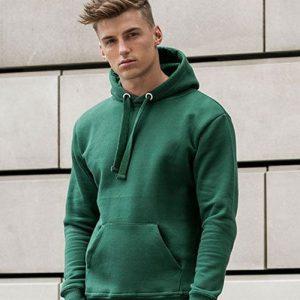 Bedrukte of geborduurde hoodie
